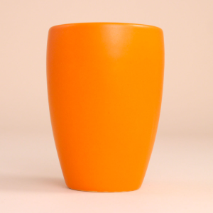 EM Keramik Becher: 1,5 dl Orange